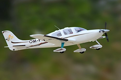 DYNAM RC Airplane SR22 White 1400mm Wingspan - PNP (Remote Aspect Ratio Control)