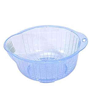 Wash rice and basket of fruits and vegetables, rice sieve filter,Random Color
