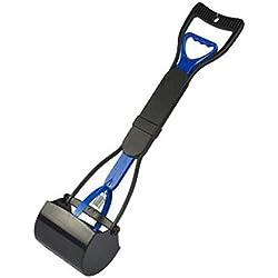 George Jimmy Pet Pooper Scooper/Toilet Clip/Toilet Shovels/Pet Supplies-Blue