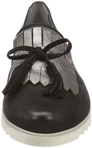 Noir Mocassins black Be 24742 Femme Natural 6nwgWp