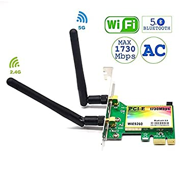 Amazon.com: Padarsey WiFi Card AC WIE pci Tarjeta de video ...
