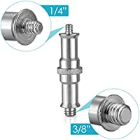 "1//4/"" to 3//8/"" Female to Male Screw Adapter Stud Spigot For Light Lamp Stand ~QA"