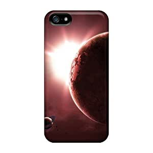 New Arrival Covers Cases With Nice Design For Iphone 5/5s- Red Space