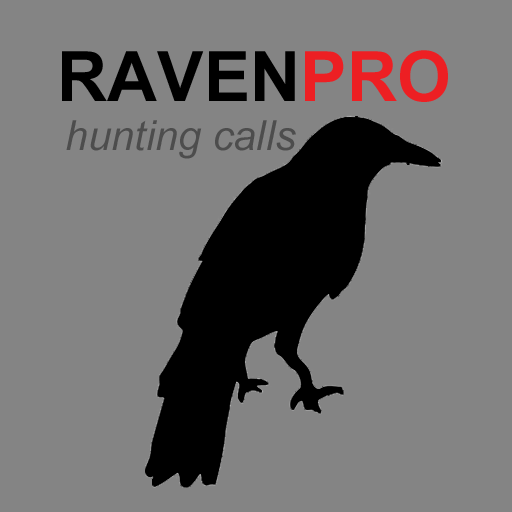 REAL Raven Hunting Calls App - 7 REAL Raven CALLS & Raven Sounds for Hunting! - (ad free) Raven e-Caller - BLUETOOTH -