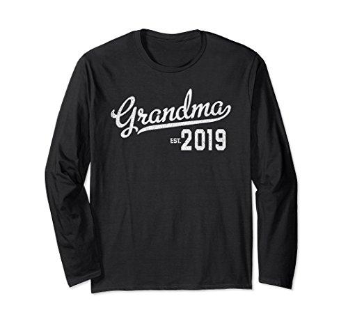 Long Sleeve First Time Grandma 2019 T-Shirt