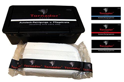 REINIGUNGSKNETE TORNADOR SHINE ROT 200G IN KUNSTSTOFFBOX