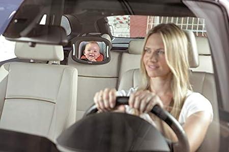 M MOLTO Espejo de Coche para bebés con luz led
