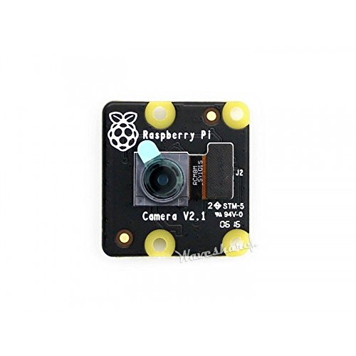 Waveshare RPi NoIR Camera V2 Newest Official Raspebrry Pi Camera Module Kit 8mp Sony IMX219 Sensor 1080p30 Supports Night Vision for Raspberry Pi 3 2 Model B B+