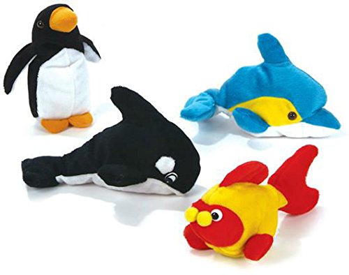 DDI Ocean Animals Bean Bag Plush Case Pack 144 , Kid ,Toy , Hobbie , Nice Gift from DDI