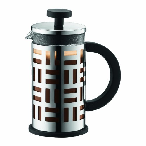 Bodum Eileen French Press Coffee Maker, 12-Ounce, Chrome