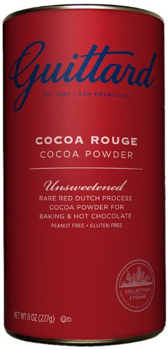 E. Guittard Collection Cocoa Products, Unsweetened, 8 Ounce (Pack of 6) (Guittard Baking Cocoa)