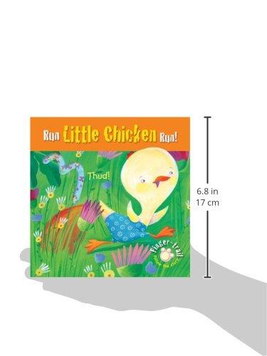 Run Little Chicken Run! (Finger-trail Animal Tales)