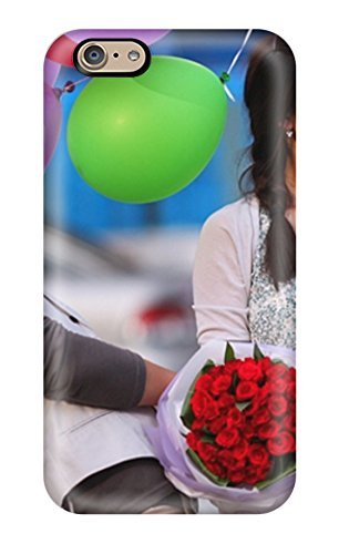 New Diy Design Korean Guy With Flowers And Girl With Balloons For Iphone 6 Cases Comfortable For Lovers And Friends For Christmas Gifts (Girly Iphone 6 Accesories compare prices)