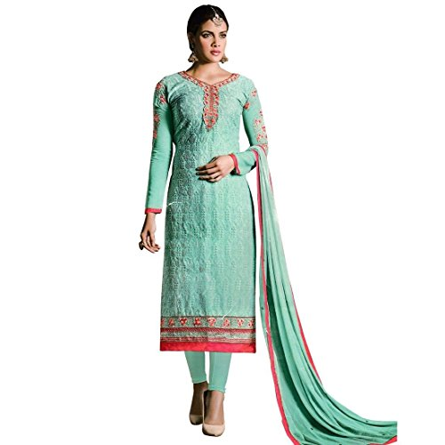 Designer-Ready-Made-Georgette-Salwar-Kameez-Embroidered-Indian-Dres