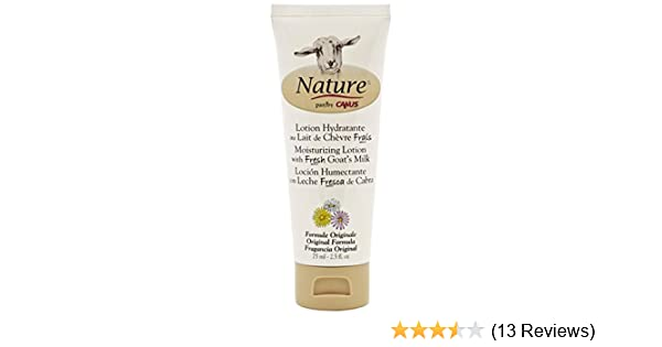 Amazon.com : Nature by Canus, Fresh Goats Milk Moisturizing Lotion, Original Formula : Beauty