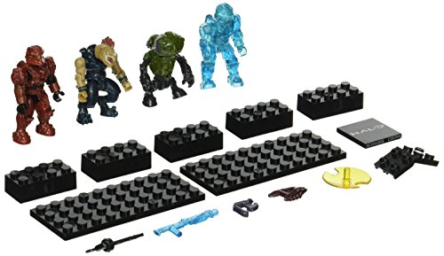 Battle Camo (Mega Bloks, Halo, Spartan IV Battle Pack (UNSC Spartan Scout, Covenant Storm Jackal, Covenant Imperial Grunt, and UNSC Camo Recruit) (97208))