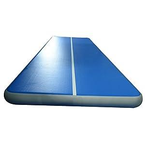 Amazon Com Inflatable Air Track Gymnastics Tumbling Mats