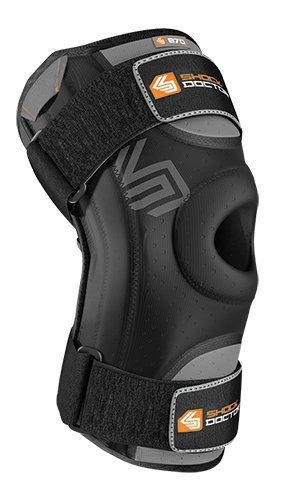 Assembly Gear Back - Shock Doctor Knee Stabilizer with Flexible Support Stays (Black, Medium)