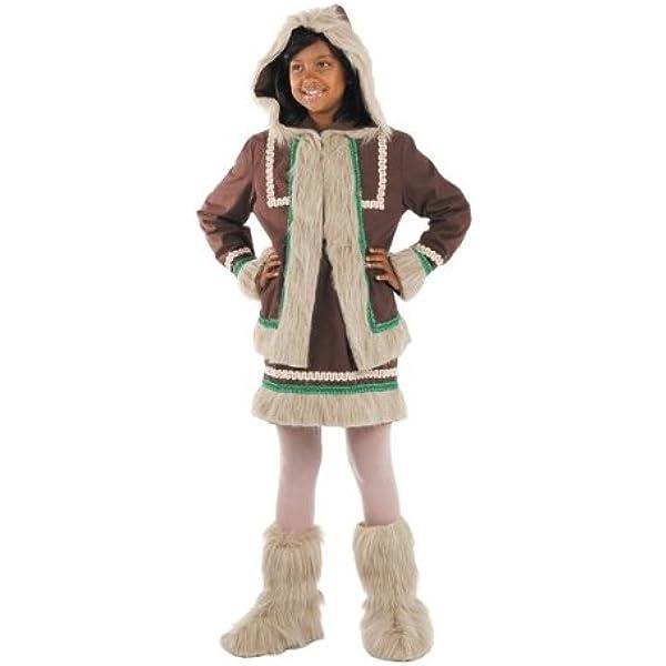 Disfraz esquimal niña. Talla 5/6 años.: Amazon.es: Juguetes y juegos
