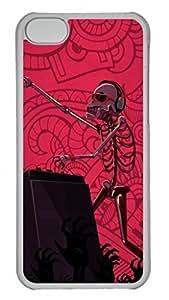 iCustomonline Grey's Anatomy Plastic Transparent Hard Back Skin for iphone 5c iphone 5c