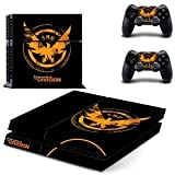 THE DIVISION DESIGNER SKIN PROTECTOR FOR PS4 AND CONTROLLER SET