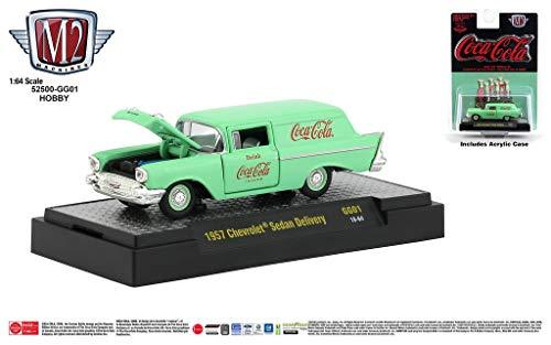M2 Machines Coca-Cola Release GG01 1957 Chevrolet Sedan Delivery