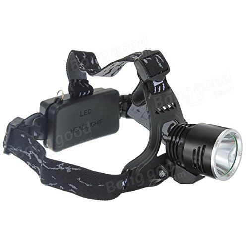 1600Lm XML T6 Rechargeable LED Headlamp 18650 A2 + AC Charger by Freelance Shop SportingGoods (Image #1)
