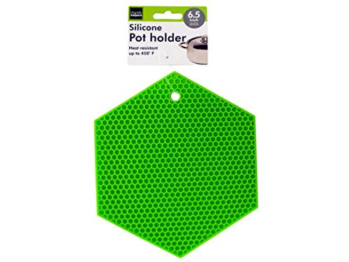 Hexagonal Silicone Pot Holder - Pack of 48 by Handy Helpers