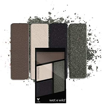 WET N WILD Color Icon Eyeshadow Quad - Lights Out (3 Pack ...