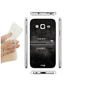 FUNDA CARCASA SLIM LIFE IS LOADING PARA SAMSUNG GALAXY CORE II SM-G355H TPU