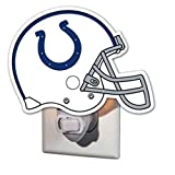 NFL Indianapolis Colts 3NT3813DGlass Night Light, Indianapolis Colts, Helmet, Blue