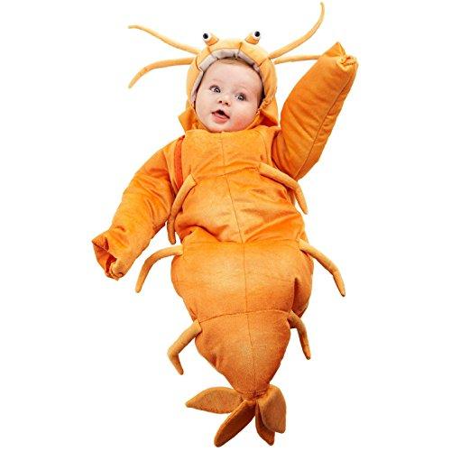 Costume Baby Bunting Shark - Shrimp Bunting Costume - Infant