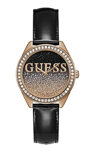 Guess Glitter Girl Watch W0823L14 Black Woman