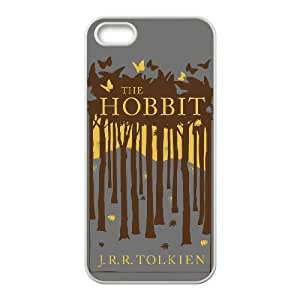 Personalized Durable Cases iPhone 5, 5S Cell Phone Case White The Hobbit Blyaue Protection Cover