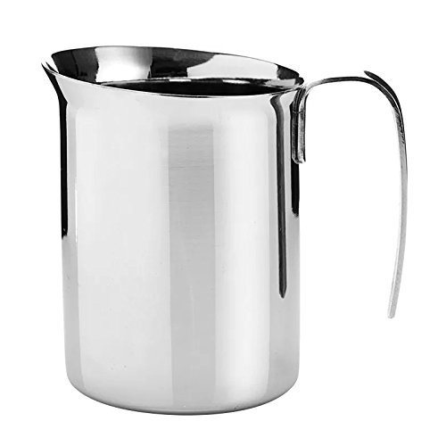 Bialetti 06728 Frother Pitcher, Stainless Steel