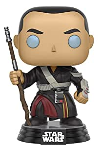 Funko - Chirrut Imwe figura de vinilo, colección de POP, seria Star Wars Rogue One (10455)