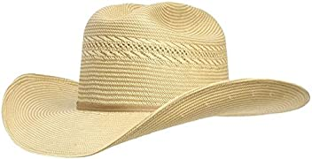 16748d078efbcd Resistol 20X Blakeo w/Drilex 4.25in Brim Precreased Straw Hat