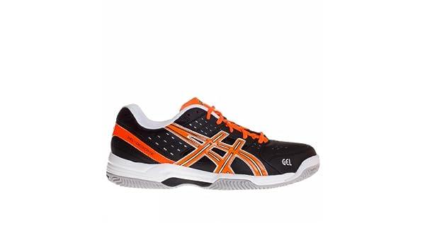 Zapatillas de Padel Asics Gel-Dedicate 3 Clay negra/naranja-46 ...