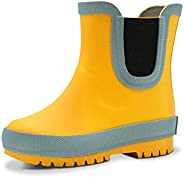 Jan & Jul Natural Rubber Rain Boots Toddler Boys Girls