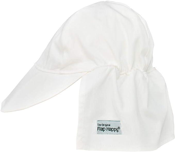 White Large Original Flap Hat