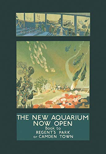 Buyenlarge The Zoo's Aquarium Now Open Book to Regent's Park or Camden Town by George Sheringham Wall Decal, 24