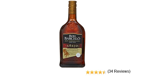 Barceló - Ron Dominicano - 700 ml: Amazon.es: Alimentación y bebidas