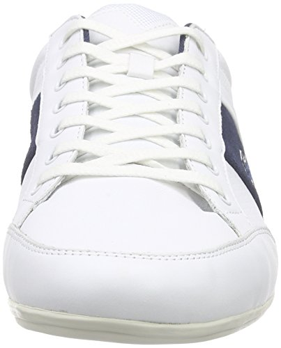 Lacoste Chaymon 216 Spm0081042 Chaussures Pour Hommes Navy Blue-white