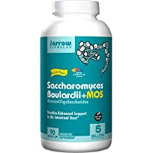 Saccharomyces Boulardii Plus MOS, 90 Caps by Jarrow Formulas (Pack of 3)