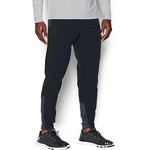 Under Armour Men's ColdGear Infrared Fleece Pants, Black/Black, X-Large