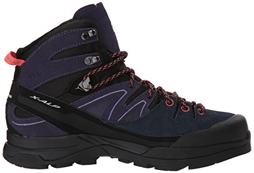 X Punch 000 Salomon Hautes Randonnée Coral GTX Chaussures W LTR Nightshade Femme Black Alp Mid Noir Grey de 4adqa