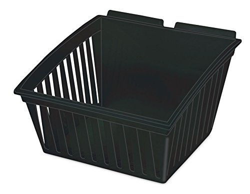 New or Retail Black Tilt Medium Cratebox 11.25''W x 11.5''D x 7''H by Cratebox