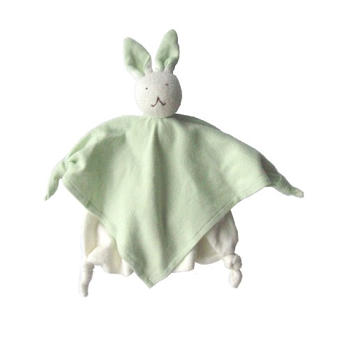 Cotton The Nile Blankets Under - Under The Nile Bunny Blanket Friend, Sage