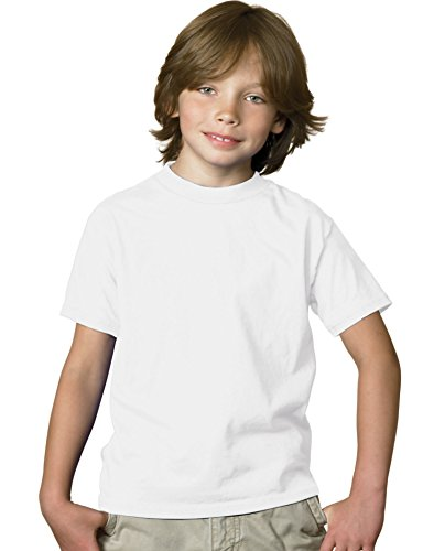 Sleeveless Girls Pique - Hanes 5.2 oz Youth COMFORTSOFT HEAVYWEIGHT T-Shirt