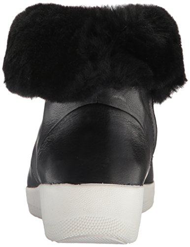Fitflop Nero Donne Stivali In Shearling Nero Skatebootie 16nP0vd